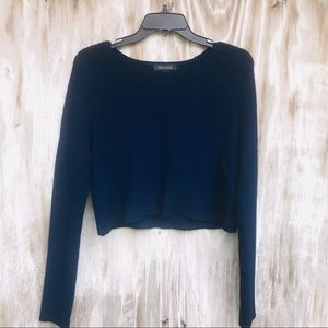 Whit House Black Market cropped sweater